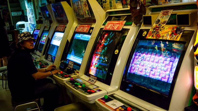 Japanese arcade industry