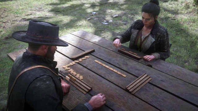Red Dead Redemption 2 - How to Play Dominoes and Win