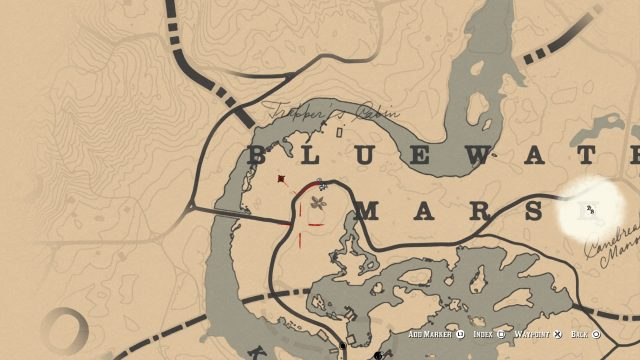 Red Dead Redemption 2 Ghost Location