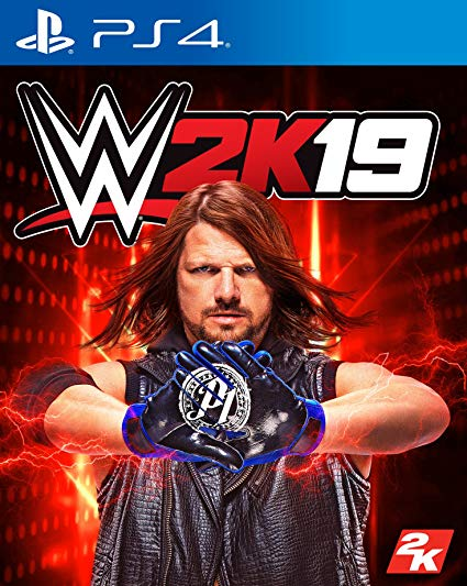 Box art - WWE 2K19