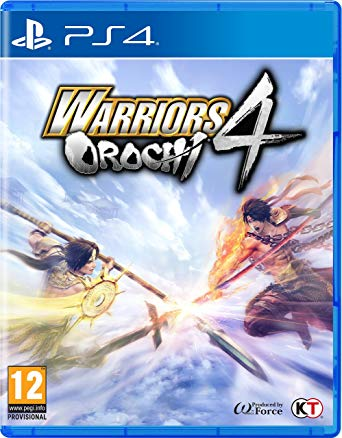 Box art - Warriors Orochi 4