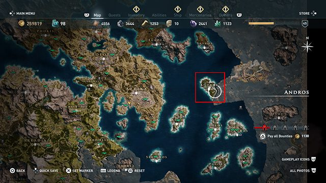 Assassin's Creed Odyssey - How to Upgrade the Spear of Leonidas