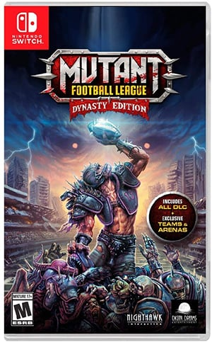 Box art - Mutant Football League Dynasty Edition