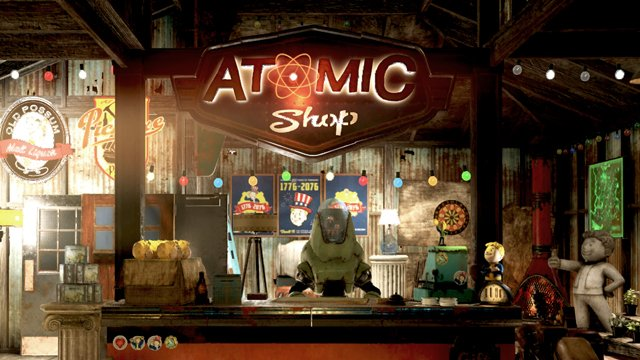 The Fallout 76 Premium Currency shop, the Atomic Shop, sells cosmetic items and more.