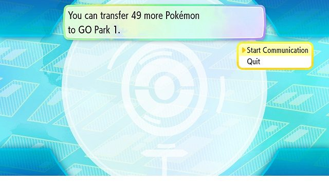 Pokemon Let's Go - Go Park Location start