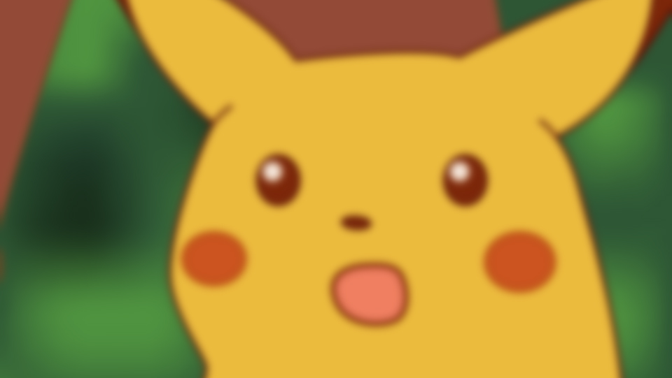 Pokemon Let's Go Surprised Pikachu