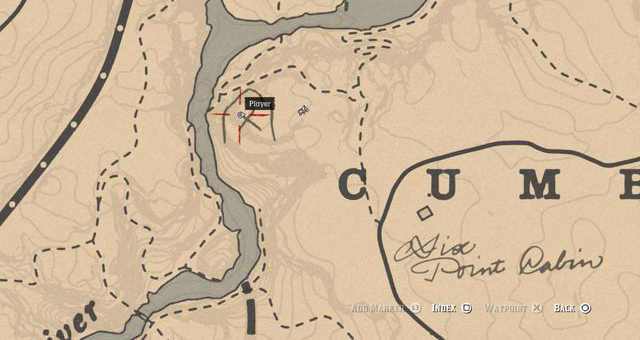 Red Dead Redemption 2 Rock Carvings - Location 7