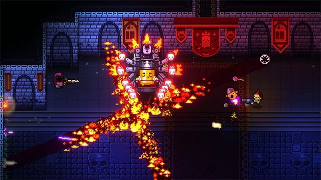 enter the gungeon roguelike, Best PS4 Couch Co-op Games, Best Nintendo Switch Couch Co-op Games, Best Nintendo Switch Games