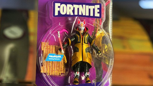 Fortnite Toys Revealed Drift Action Figure Among The First Wave
