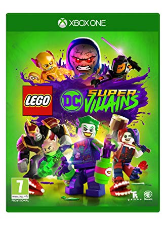 Box art - LEGO DC Super-Villains