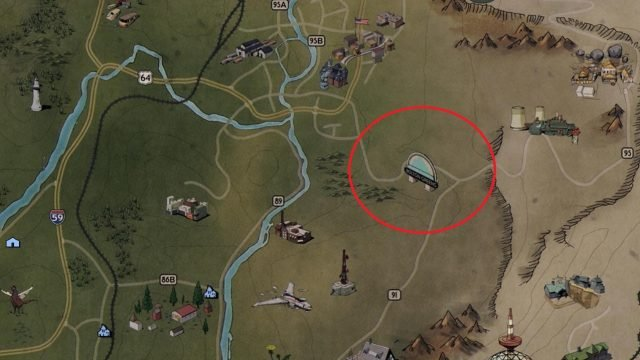 Fallout 76 gear location