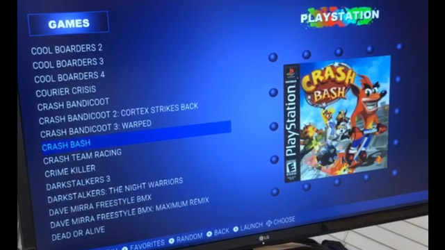 Raspberry Pi Playstation Classic Homebrew.