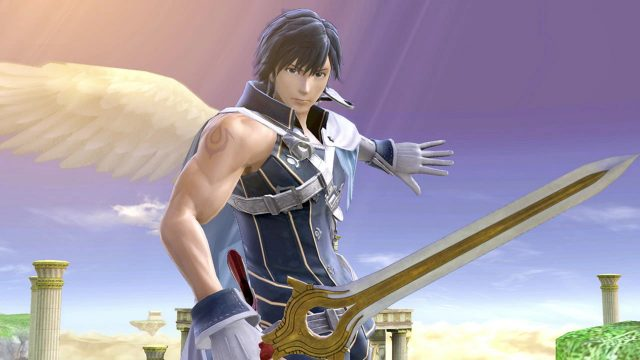 Smash Ultimate Chrom