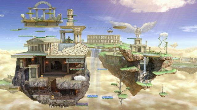 Smash Ultimate Stage List