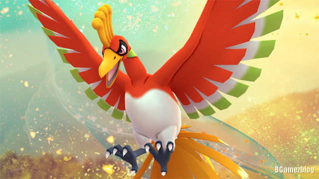 pokemon go lugia and ho-oh