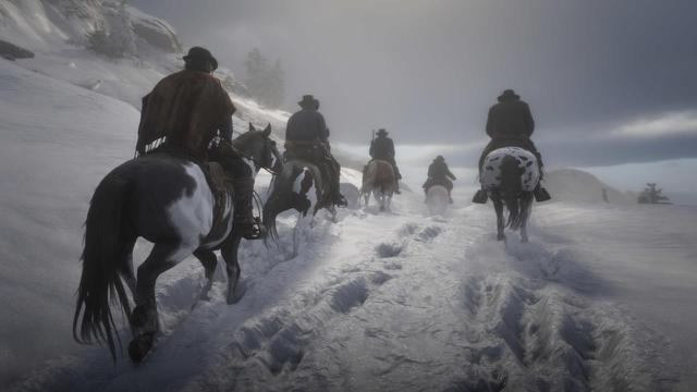 red dead online festive holiday update