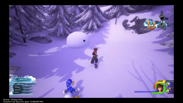Kingdom Hearts 3 Olaf Pieces