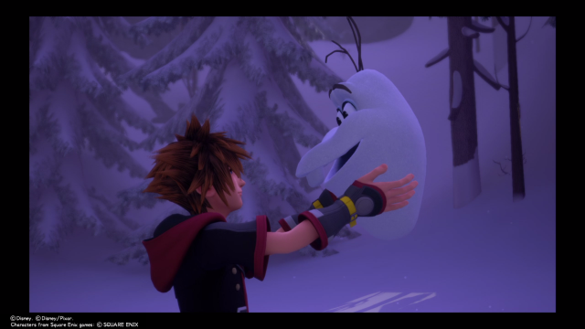 Kingdom Hearts 3 Olaf Pieces head location