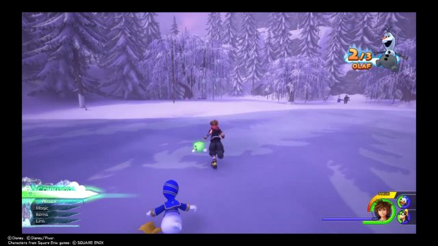 Kingdom Hearts 3 Olaf Pieces location legs
