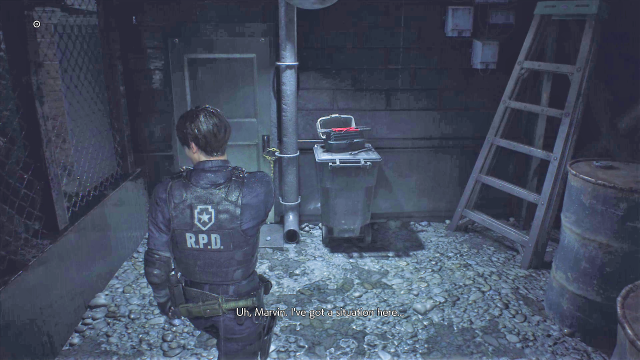 Resident Evil 2 Bolt Cutters Location 1st Run