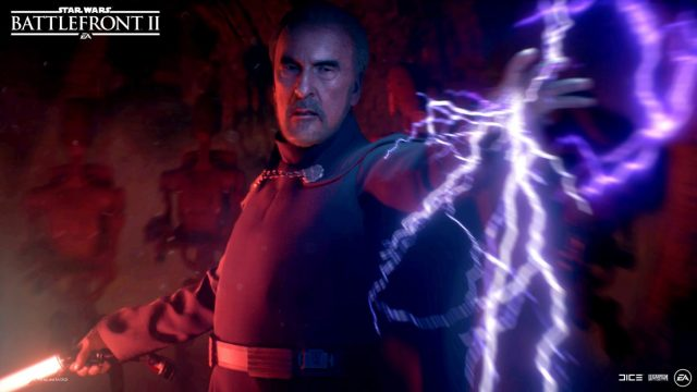 Star Wars Battlefront 2 Count Dooku