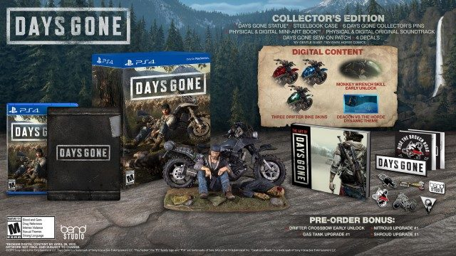 Days Gone Special Edition - collector's edition
