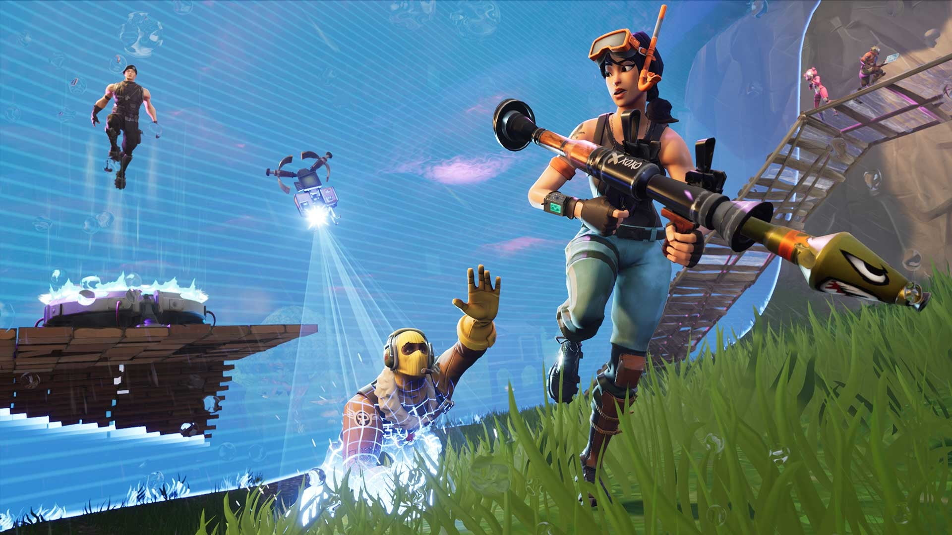 fortnite players who play at 30fps are at a disadvantage