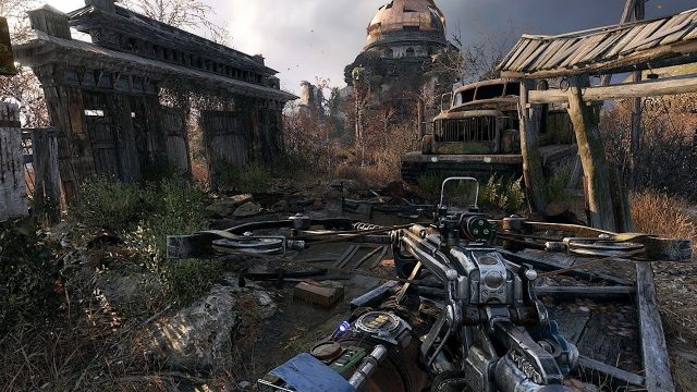 metro exodus download size ps4 pc