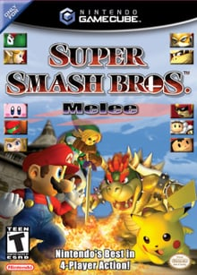 Box art - Super Smash Bros Melee