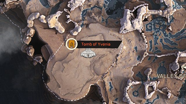 Anthem Tombs of Legionnaires Challenges