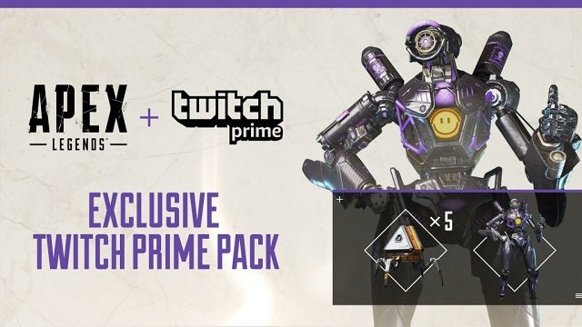 Apex Legends Twitch Prime starring Pathfinder.