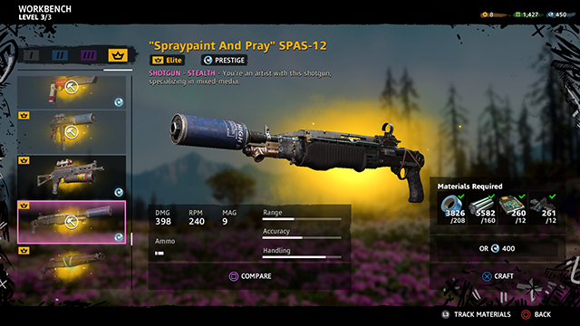 Far Cry new dawn gun tiers
