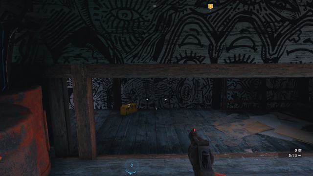 Far Cry New Dawn High Art treasure hunt crawl space