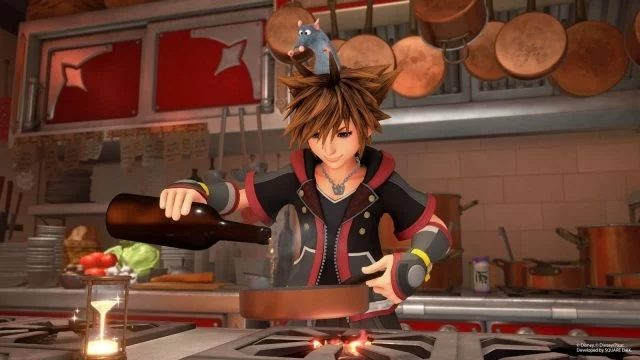 Kingdom Hearts 3 Grand Chef Keyblade