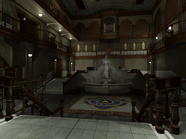 Resident Evil 2 Original Main Hall