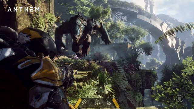 anthem stats screen weapons ammo