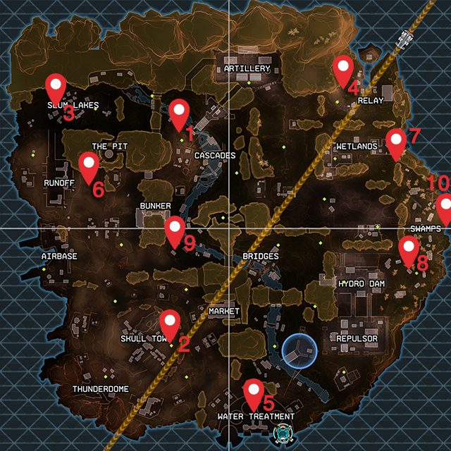 All Apex Legends Nessy Locations