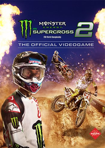 Box art - Monster Energy Supercross 2