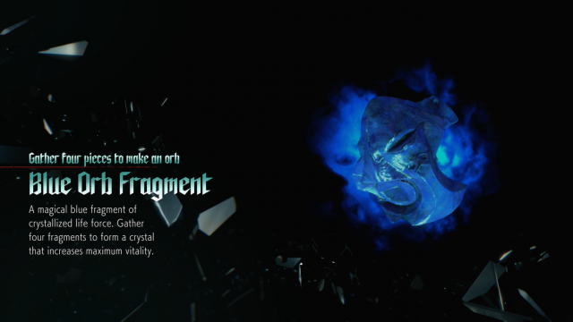 Devil May Cry 5 Blue Orb Fragment