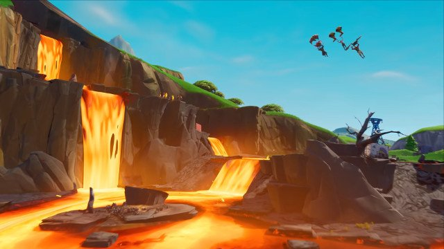 Fortnite Volcano Erupt Event Will The Volcano Erupt