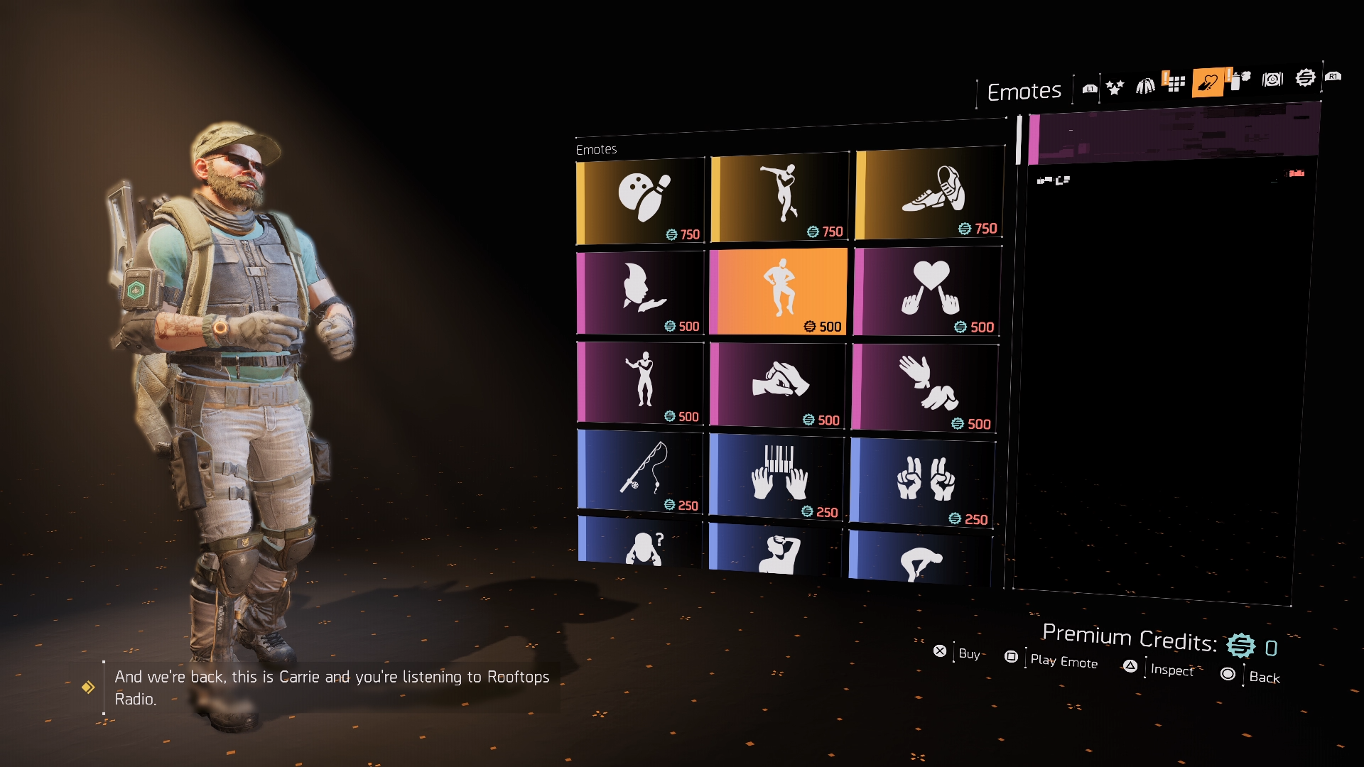 The Division 2 Get more Emotes