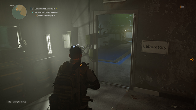 The Division 2 Laboratory Door