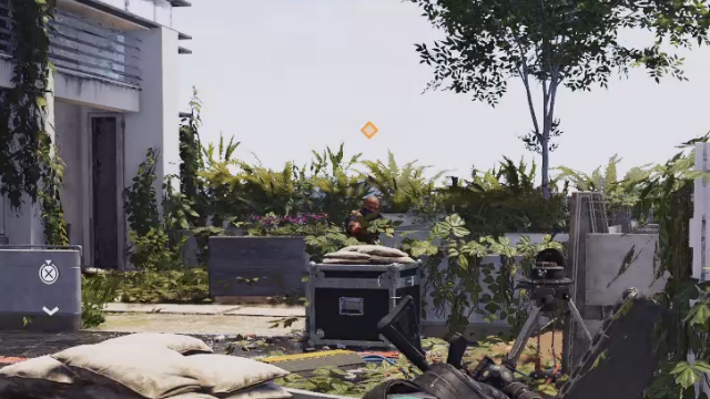 The Division 2 orange marker diamond