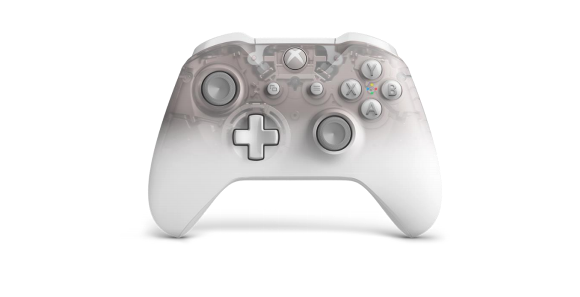 Xbox One Phantom White Special Edition controller