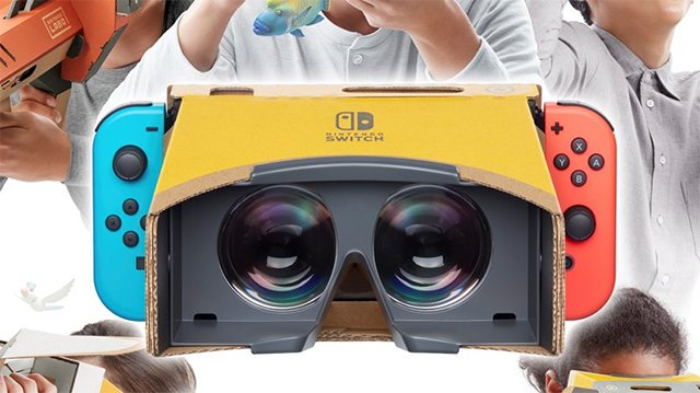 Nintendo Labo VR Kit Arrives April 12, 2019