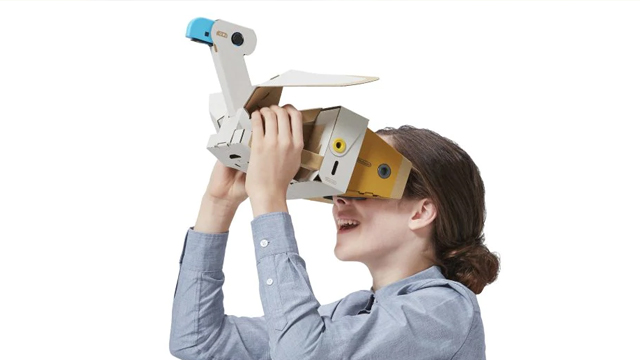 nintendo labo vr switch frame rate