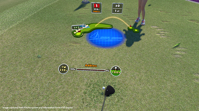 psvr everybody golf's vr