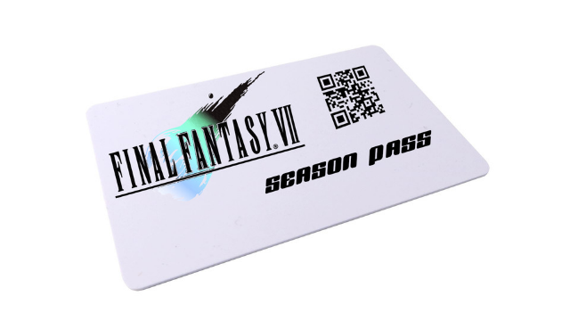 Final Fantasy 7 remake Season Pass