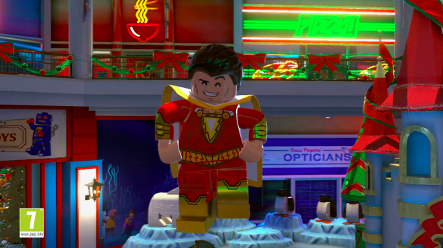 Lego DC Super Villains Shazam DLC