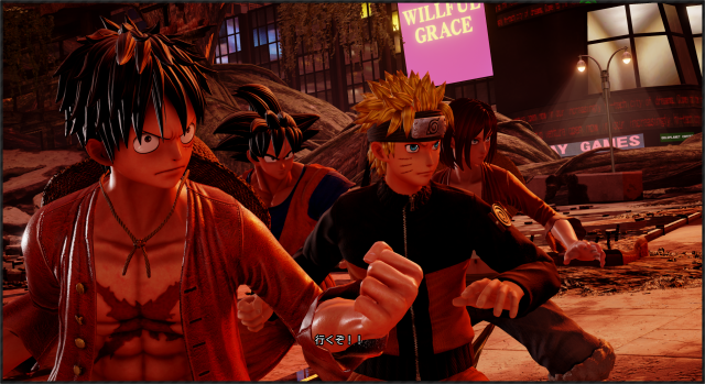 PSN Golden Week Sale Jump Force
